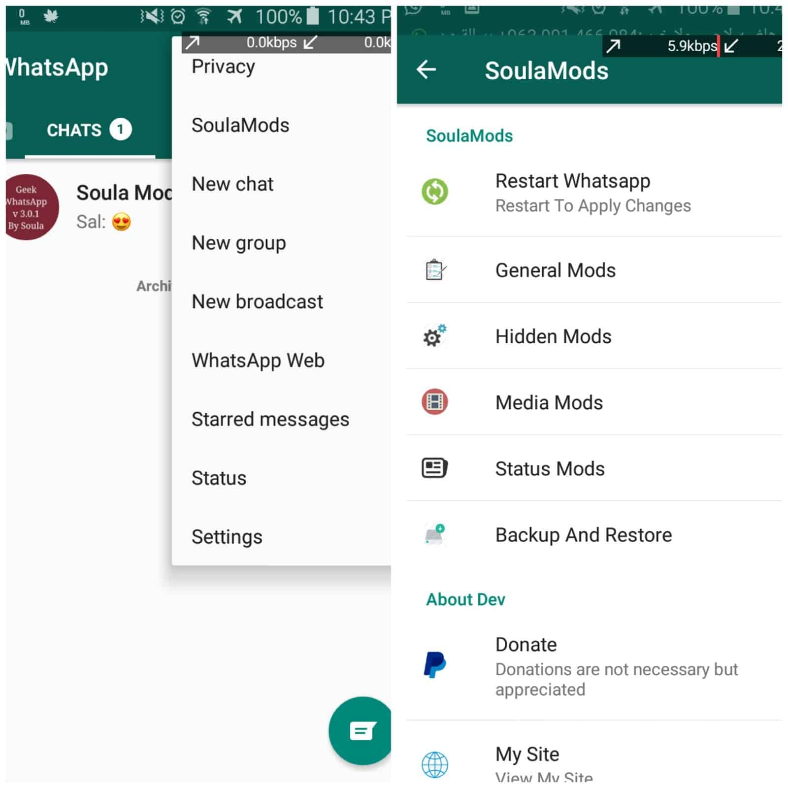 Download Whatsapp Lite V6 10 Apk Mod Terbaru Versi Ringan