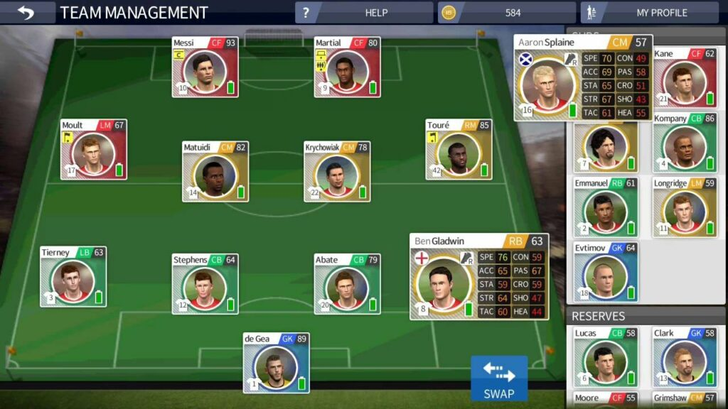 Team-Management-cara-bermain-dream-league-soccer-apk-mod