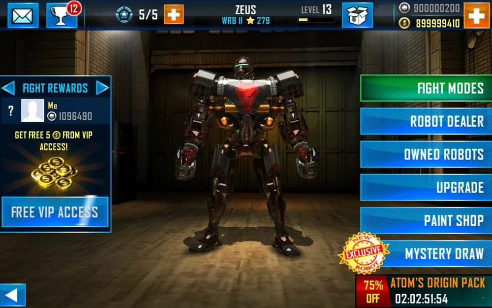 Real-Steel-World-Robot-Boxing-Mod